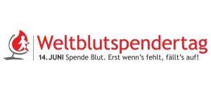 Logo Weltblutspendertag 2018