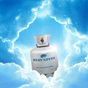 """Die neue Grillgasflasche """"Meat Lover"""" von PROGAS ist ideal für Hobby- und Profi-Grillmeister."""