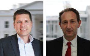 Marcus Schulz (links) übernimmt das Amt des VMF-Vorstandsvorsitzenden von Michael Velte.