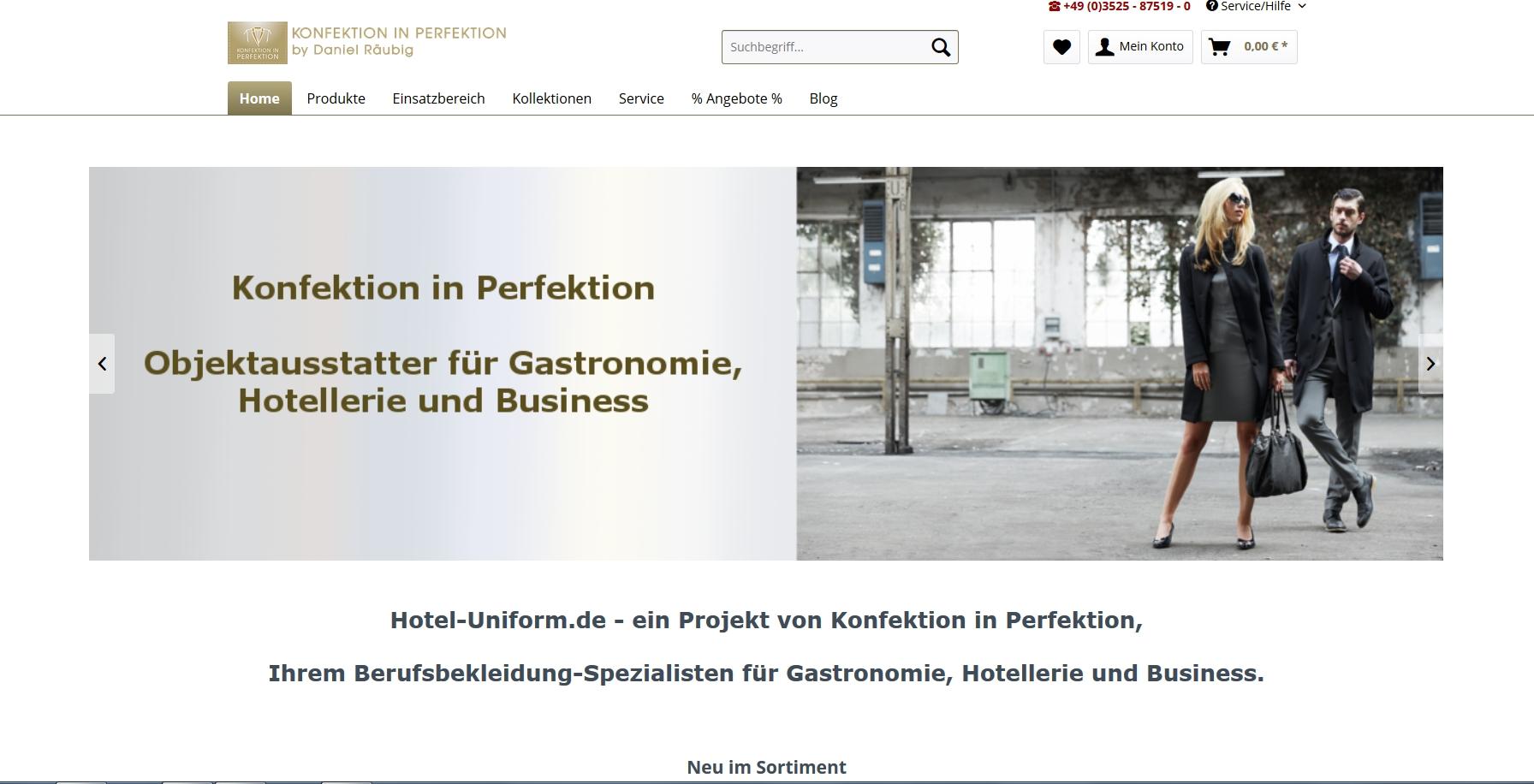 Konfektion in Perfektion D.Räubig