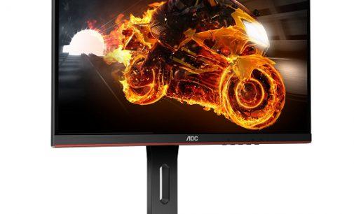 AOC erweitert sein Gaming-Portfolio um neue Einstiegsmodelle: die Curved G1-Serie