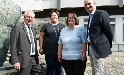 Volksbank Rüsselheim spendet an Stiftung Soziale Teilhabe