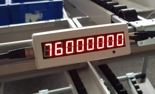 """Neues """"Delivery Display"""" von nextLAP für digitalisierte Pickprozesse in Fertigung und Logistik"""