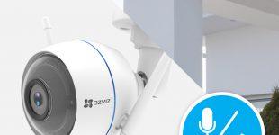 Mehr Sicherheit mit der WLAN-Außenkamera ezTube Plus