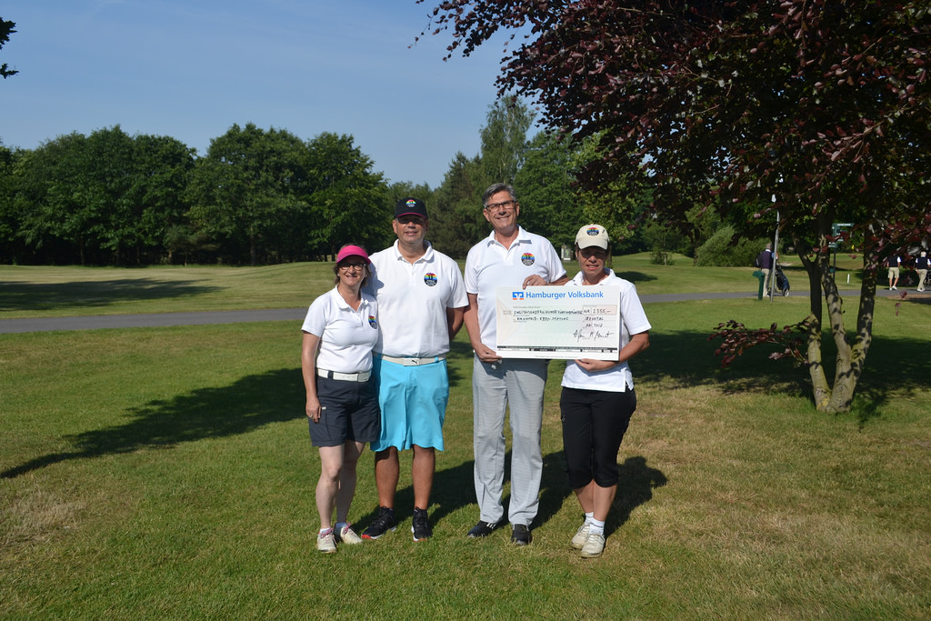 German-Rainbow-Golfers spenden für den guten Zweck