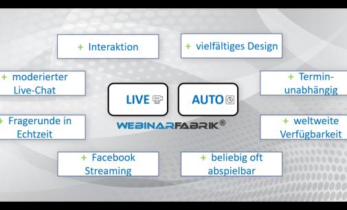 6 Besonderheiten von Live- und automatisierten Webinaren