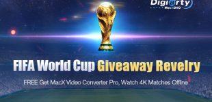 MacXDVD feiert FIFA WM 2018 mit MacX Video Converter Pro Giveaway – 1000 Kopien pro Tag