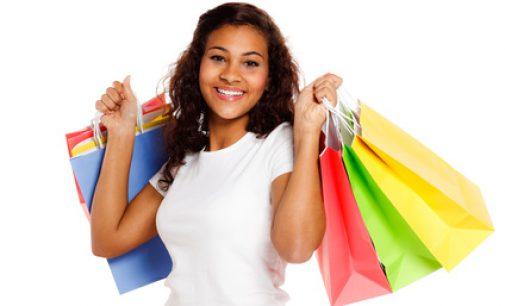 Umweltfreundliche Tragetaschen aus Papier für den Einzelhandel