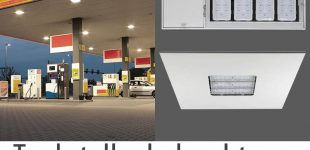 """LED Tankstellenleuchten von """"Wir sind heller"""""""