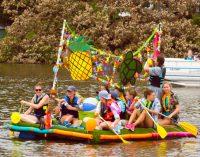 Oberwasser für Kreative: Rockfords kurioser Spaßwettbewerb auf dem Rock River