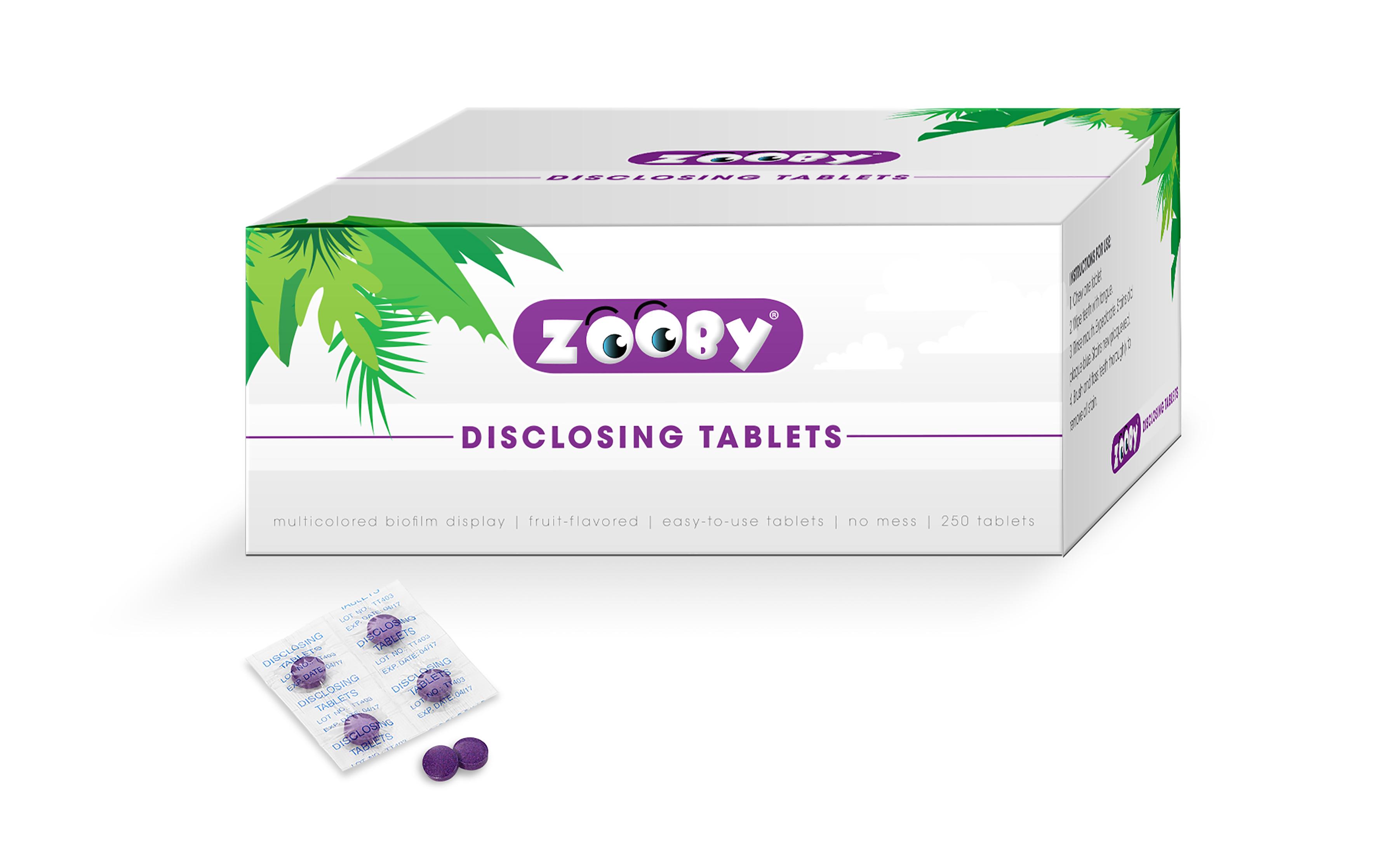 Die neuen Anfärbetabletten von Zooby®