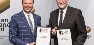 Grand Hall ZOLLVEREIN® gewinnt 2 German Brand Awards