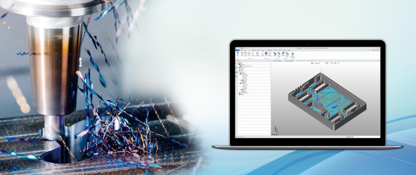 Höhere Wirtschaftlichkeit durch innovative Schrupptechnologie im 3D CAD/CAM-System ZW3D2019