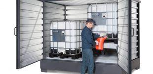 SolidMaxx: Raumwunder zum Lagern und Abfüllen von Gefahrstoffen