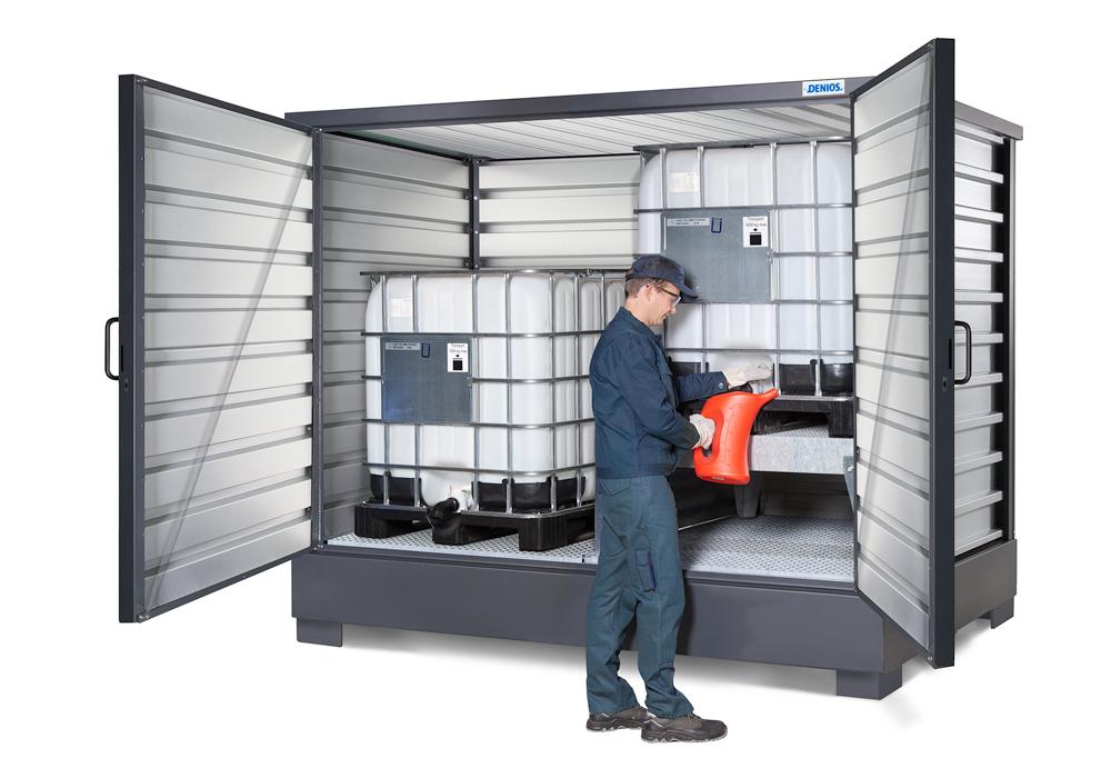 Dank anwenderfreundlicher Abmaße ist im SolidMaxx das Arbeiten am Lagergut bequem möglich.