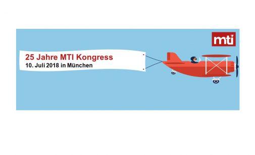 25-ster MTI Kongress im neuen Format