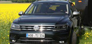 Pferdeanhänger-Zugfahrzeugtest VW Tiguan Allspace auf Mit-Pferden-reisen.de
