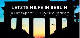 """""""Letzte Hilfe""""- Kurs in Berlin"""