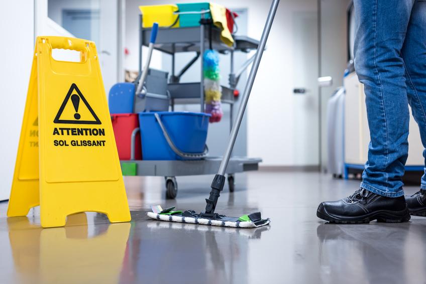 Professionelle Reinigung mit Pro DP Reinigungsmitteln