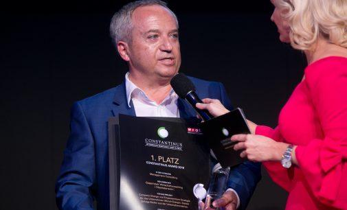 Richard Gappmayer gewinnt Constantinus Award 2018