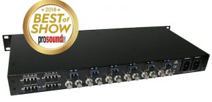 """Die Optocore Festival BOX: """"Hot-Swap""""-SFP-Lösung für Allround-Signalübertragung aller Protokolle zwischen FOH und Bühne über eine Glasfaser"""