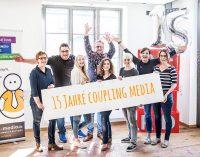 """15 Jahre """"runde"""" Online Konzepte mit coupling media"""