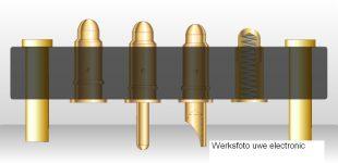 Konfigurierbare Federkontakt- /Starrstift-Schnittstellen