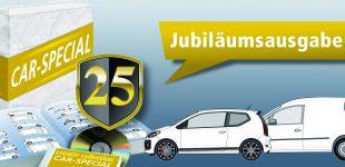 CAR-SPECIAL® – Jubiläumsausgabe mit vielen Neuheiten