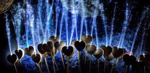 Leuchtwedel – der neue Trend auf Hochzeiten