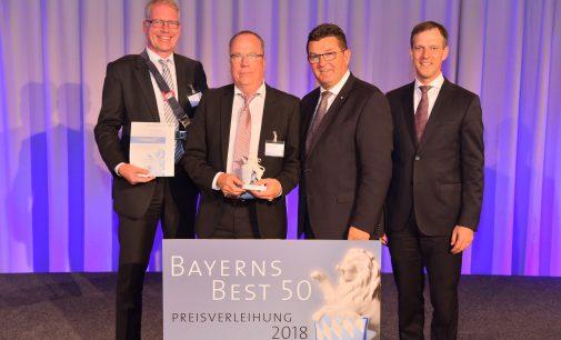 """Preisverleihung """"Bayerns Best 50"""": iC Consult erhält Auszeichnung als eines der wachstumsstärksten mittelständischen Unternehmen in Bayern"""