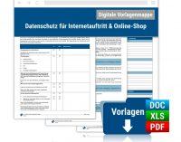 Datenschutz für Internetauftritt & Online-Shop