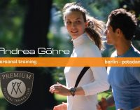 Personal Training – Andrea Göhre – jetzt auch in Potsdam !