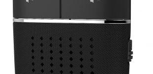 Kfz-Freisprecher BFX-450.pt, Bluetooth, Siri- und Google-kompatibel, Sprachbefehl