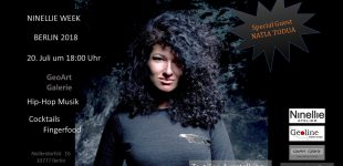 Natia Todua zu Gast bei NINELLIE WEEK // BERLIN 2018