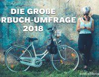 Die Große Hörbuch-Umfrage startet zum ersten Mal in Deutschland