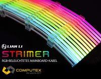 NEU bei Caseking – Das Lian Li Strimer bringt RGB-Beleuchtung für die Mainboard-Stromversorgung.