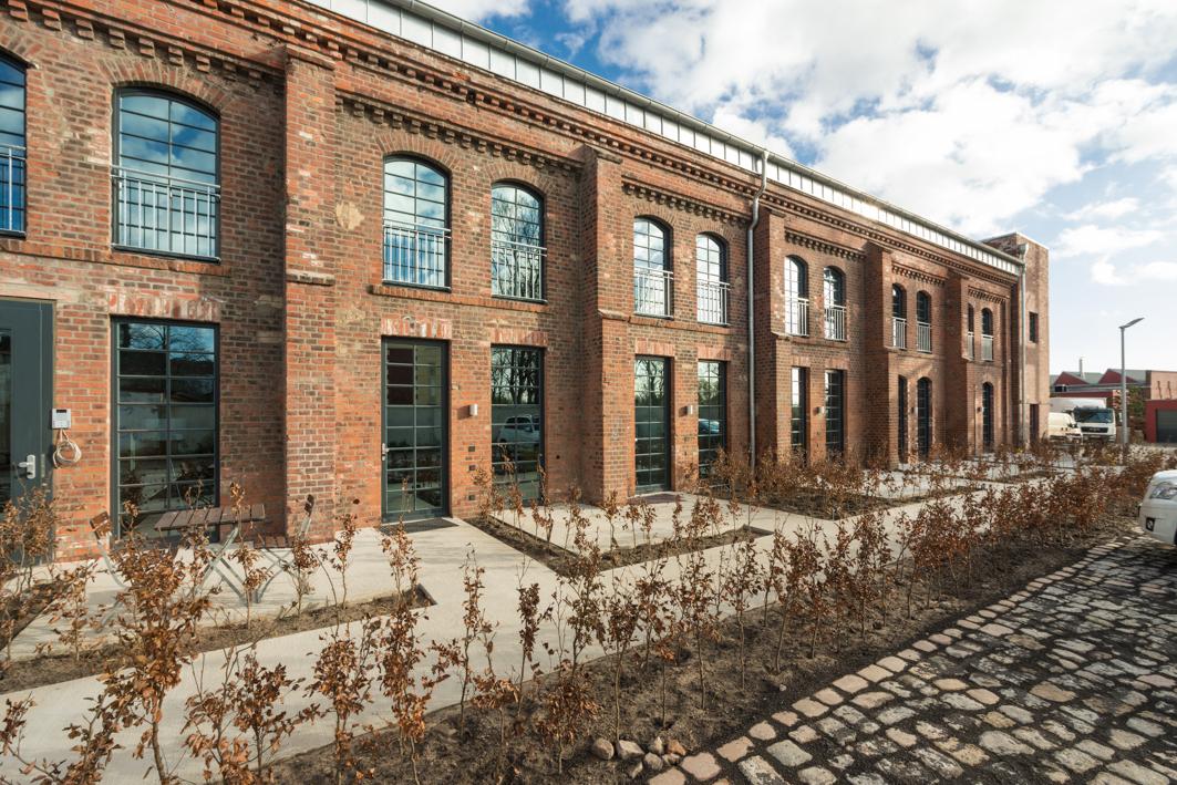 Kammgarnspinnerei in Brandenburg