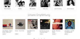 Relaunch des BigBankHank Schallplatten Online Shops
