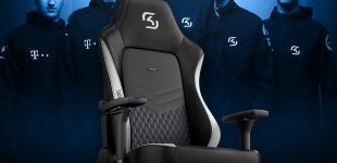 BRANDNEU bei Caseking – Der noblechairs HERO als SK Gaming Edition.
