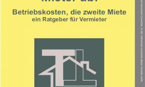 Legionellenprüfung – 25.0000 Euro Bußgeld für Vermieter möglich
