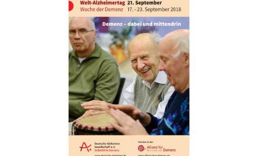 Pressekonferenz zum Welt-Alzheimertag 2018 am 17. September in Berlin