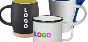 Mit bedruckten Tassen als Werbegeschenk stehen Sie täglich im Mittelpunkt