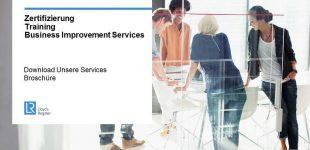 Lloyd´s Register Business Assurance – Unser Leistungsprogramm