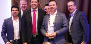 agilimo erhält BlackBerry Top Disruptor Award