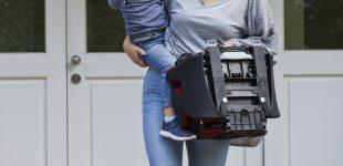 Weltweit erster faltbare Reha Autokindersitz