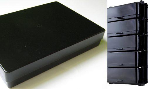 VarioColors präsentiert Black Officeline A4 Aufbewahrungsboxen