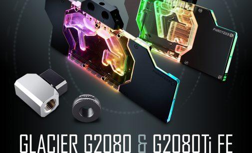 BRANDNEU bei Caseking – PHANTEKS Glacier Full-Block-Wasserkühler für die GeForce RTX 2080 & 2080 Ti.