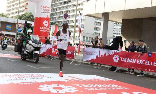 Eliud Kipchoga gewinnt BMW Berlin-Marathon