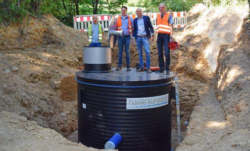 Attendorn: Wasserversorgung mit maßgeschneidertem Schacht