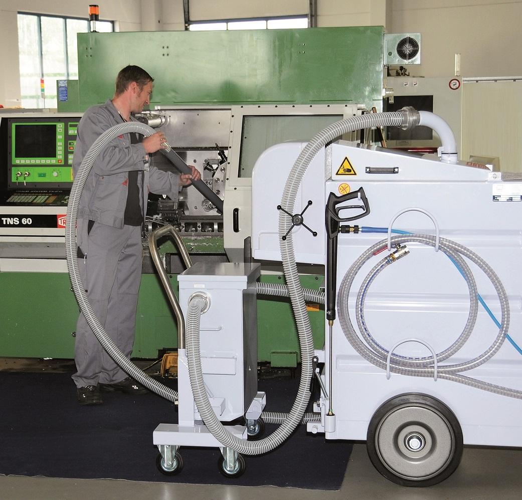 Graushaar setzt bei der Maschinen- und Anlagenreinigung auf hochwertige Reinigungstechnik von MKR
